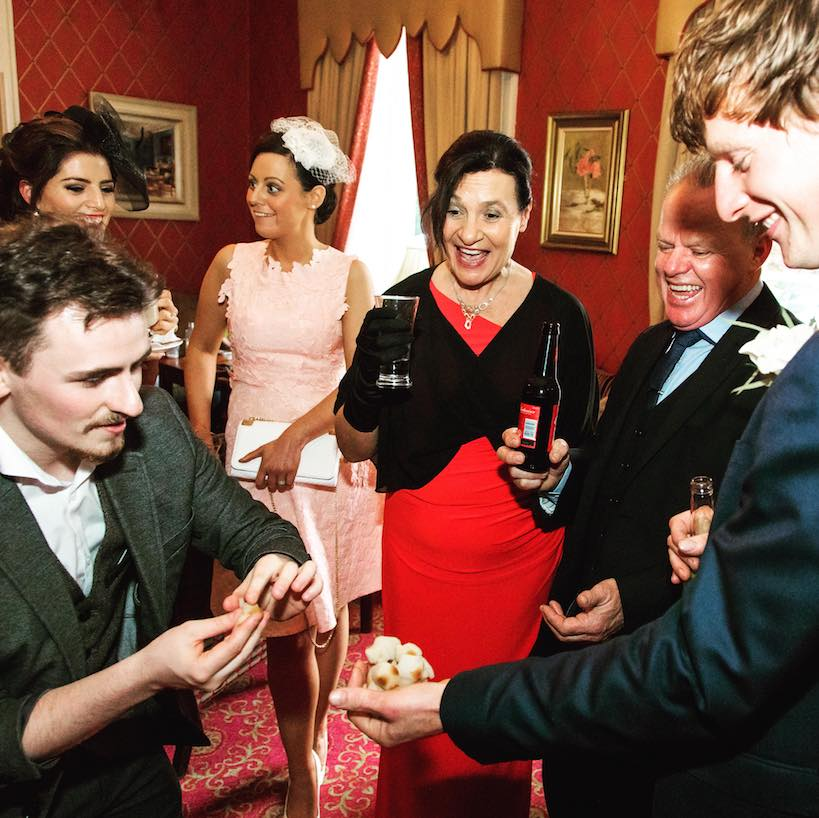 Oisin Foley Magic Weddings Show